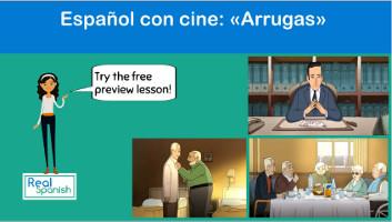 Español con cine: Arrugas