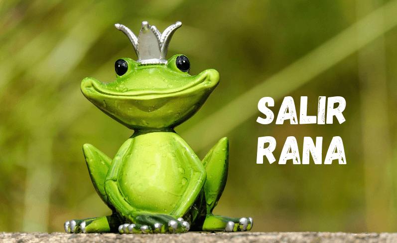 Salir rana y otros usos de «salir»
