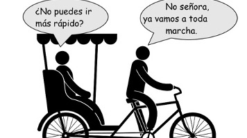 a toda marcha