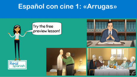 Español con cine 1: «Arrugas»