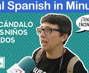 Real Spanish in Minutes. «¡Qué escándalo!». Learn words and phrases related to crime and punishment.