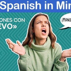 Real Spanish in Minutes. «Manda huevos» y otras expresiones con «huevo».