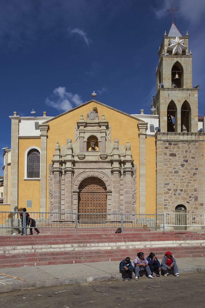 Oruro Iglesia del Socavon