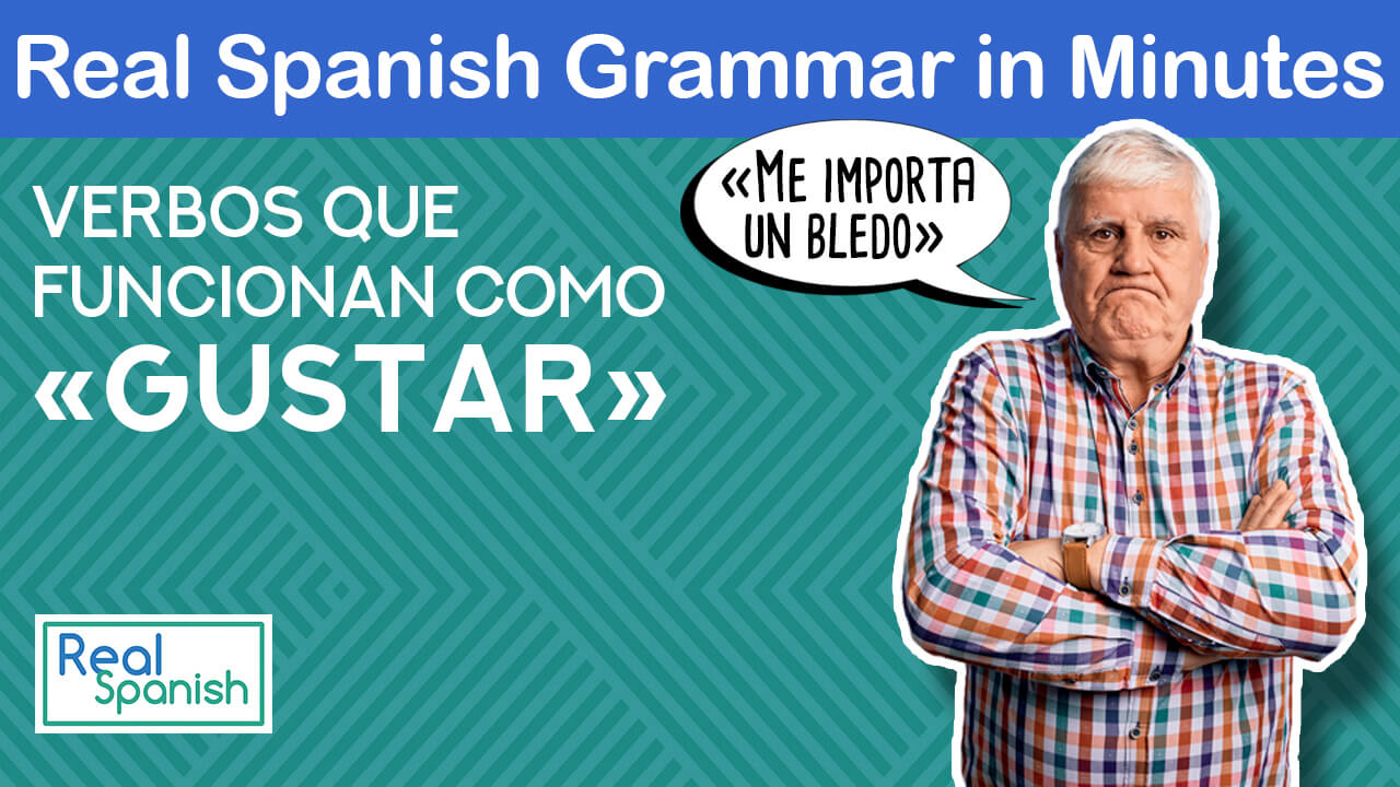 "Me importa un bledo and other verbs that function as ""gustar""."