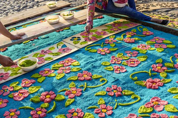 Creación alfombras