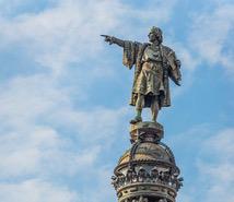 Statue of Cristóbal Colón in Barcelona
