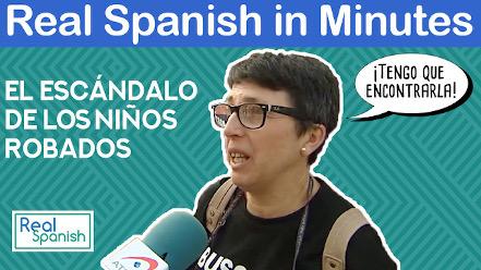 Spanish in minutes - ¡Lo han robado!