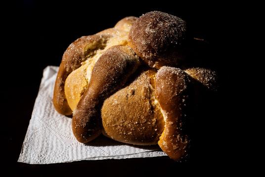 Pan de muerto tradicional de México