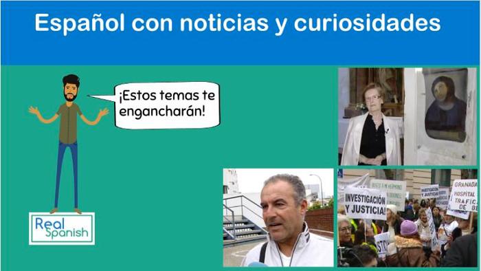 Español con noticias y curiosidades