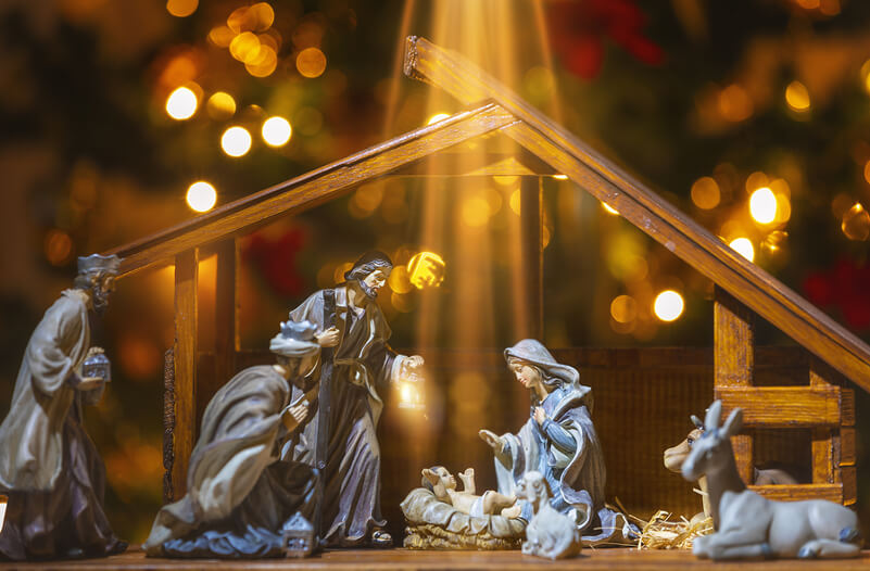 Navidad en España - Portal de Belén